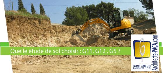 Etude de sol g11 g12 pour construire est ce obligatoire for Etude de sol prix