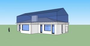 Cr ation d 39 un tage sur une maison existante conseils d 39 archi for Extension maison loi