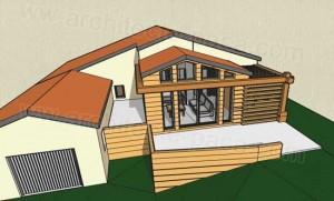 Midi pyr n es bois architecture construction et travaux for Extension maison loi