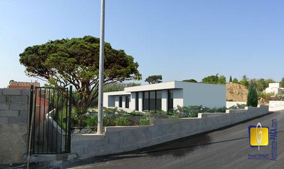 Maison contemporaine marseille t moignage architecte for Architecte marseille maison individuelle