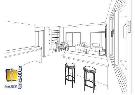 Visiter un plan de maison d 39 architecte en 3d architecte for Architecte 3d plan maison architecture