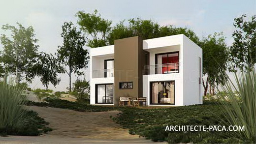 Petite maison contemporaine point de vue d 39 architecte for Architecture villa moderne gratuit