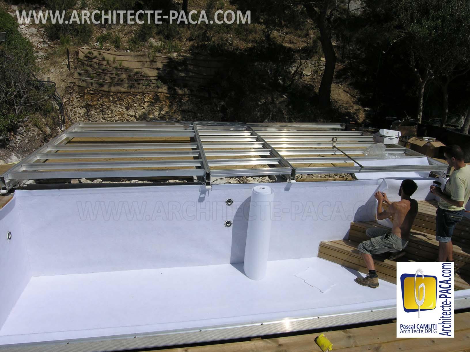 couvrir et s curiser sa piscine facilement architecte. Black Bedroom Furniture Sets. Home Design Ideas