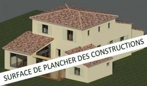 La surface de plancher des constructions r forme en route - Surface de plancher et surface habitable ...