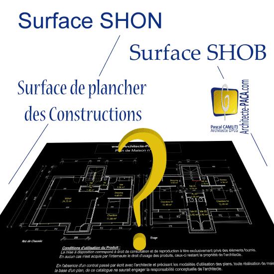 Toutes les surfaces r glementaires sdpc shon shob - Surface de plancher et surface habitable ...