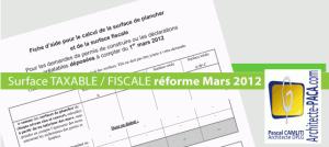 Surface taxable fiscale mars 2012 - Surface de plancher et surface habitable ...