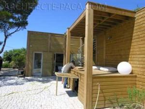 Projet d'extension de maison en Bois
