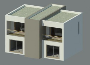 Maison architecte REVIT Architecture