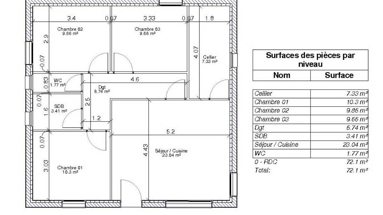 Combien De Wc Dans Une Maison définition de la surface habitable par les hauteurs de plafonds