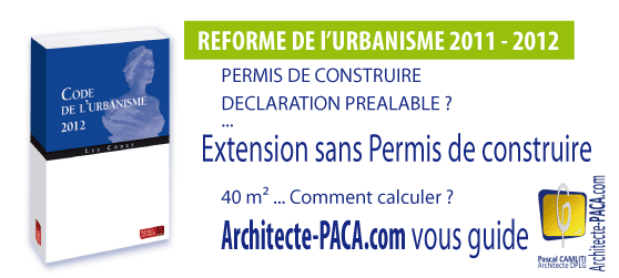 R forme 2011 extension 40 m2 sans permis de construire for Extension de maison de 40m2