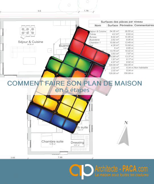 Comment faire un plan de maison en 5 tapes - Faire son plan de maison gratuit ...