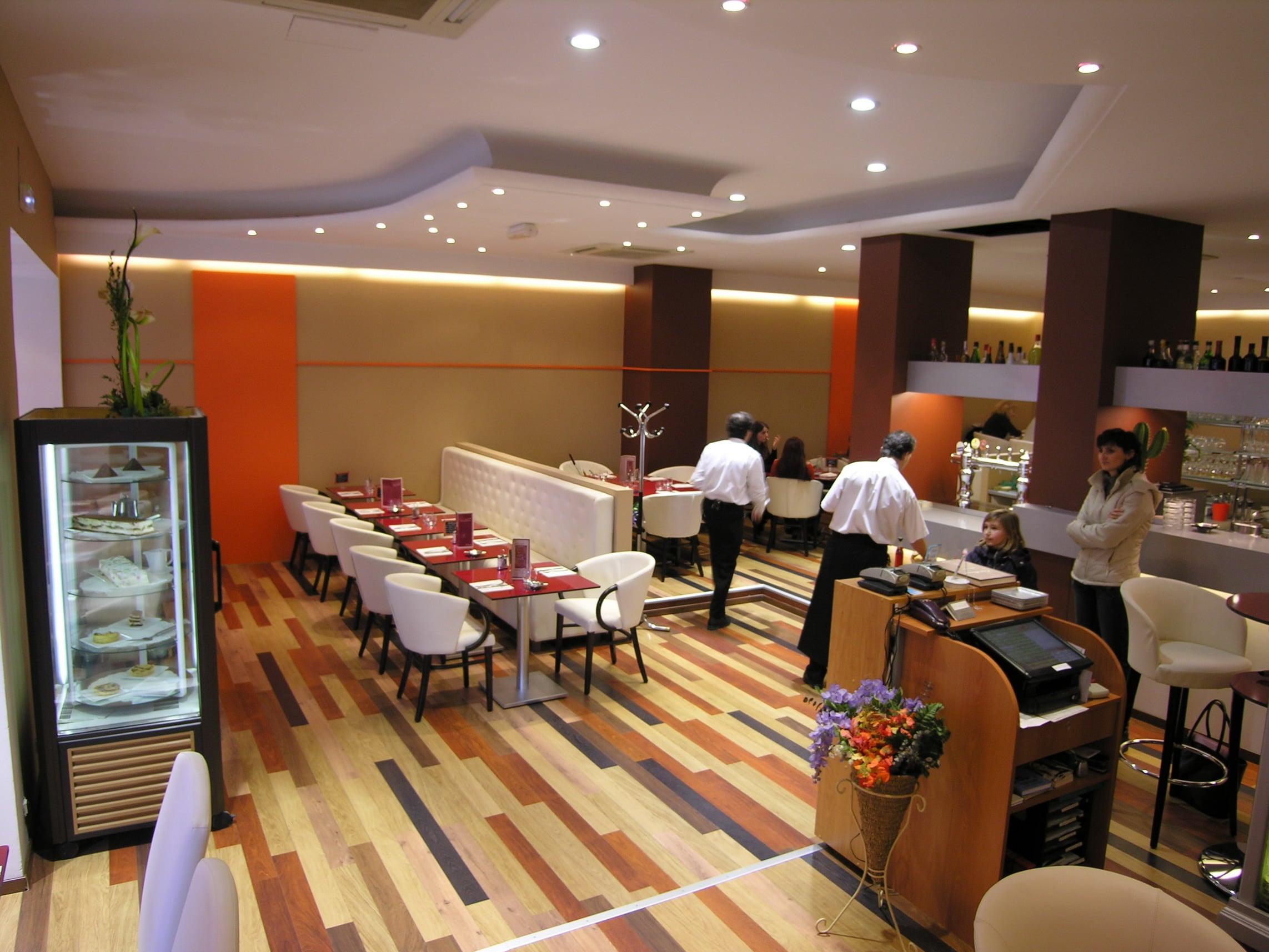 Rénovation complète d\'un restaurant à Nice, Design et déco