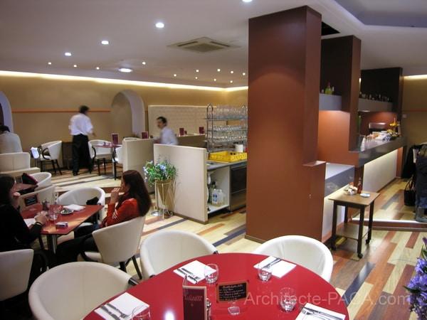 Décoration d'un Restaurant à Nice